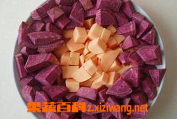 果蔬百科紫芋头